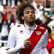Michu in action for Rayo