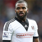 Darren Bent in action for Fulham