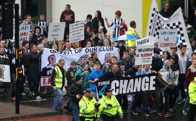 Newcastle United supporters are a fickle old bunch…